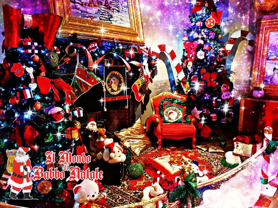 salotto di Babbo Natale