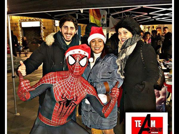 Team Avengers al Mondo di Babbo Natale il 1 Dicembre