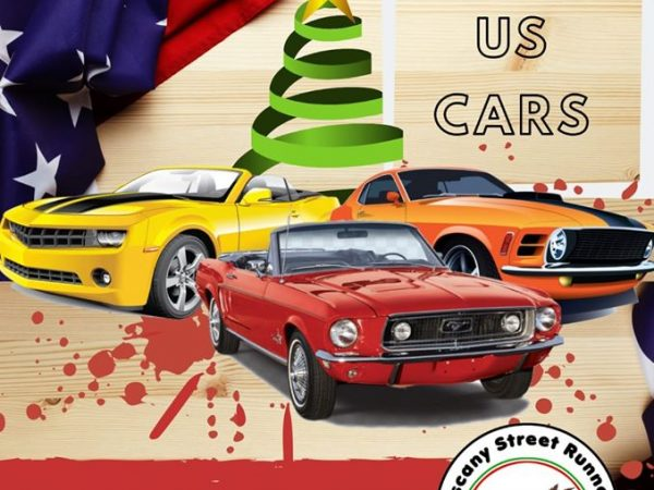 Raduno auto Americane – al Mondo di Babbo Natale – 1 Dicembre- Tuscany street Runners