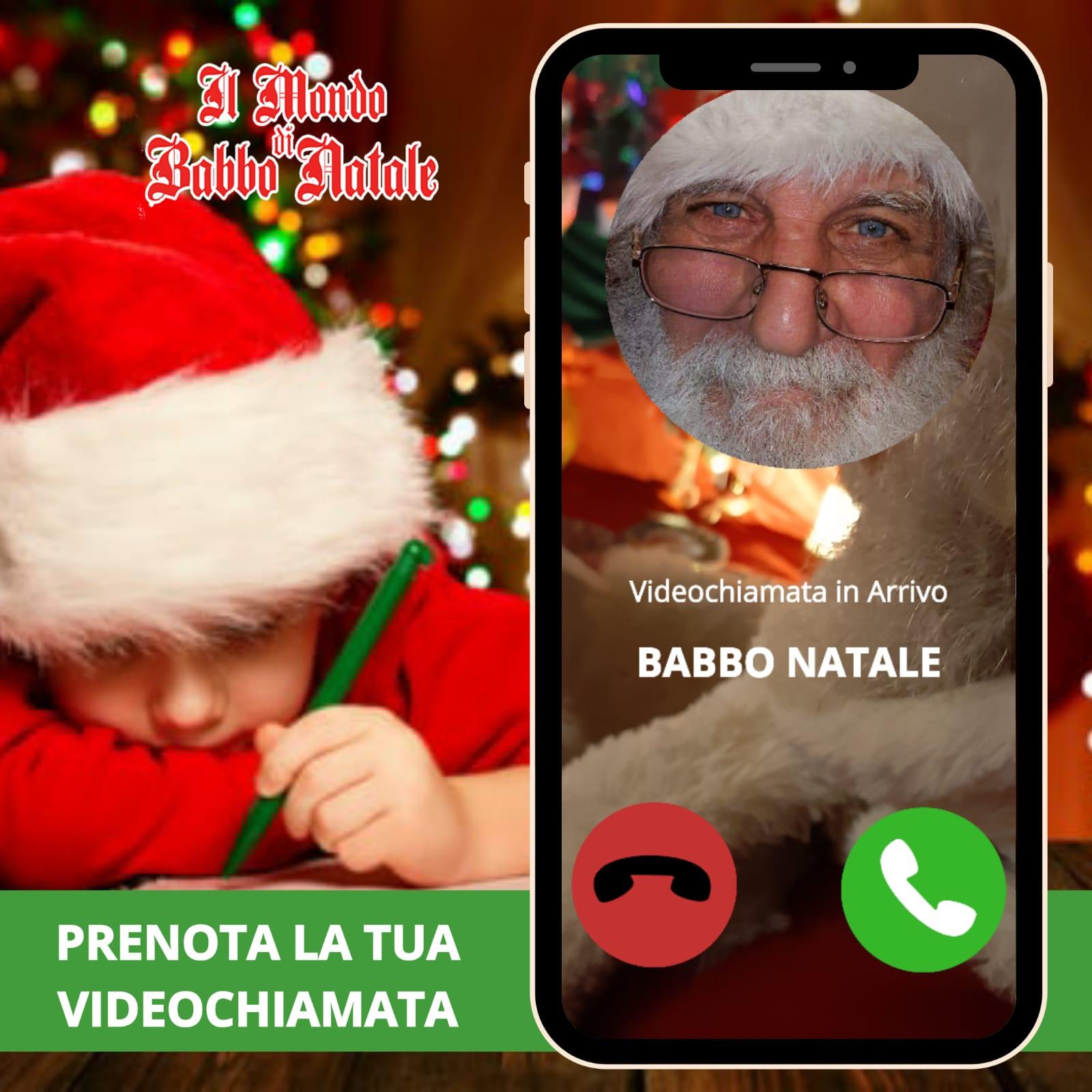 Il Babbo Natale.Videochiamata Con Babbo Natale Il Mondo Di Babbo Natale